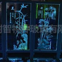 内雕玻璃 光电玻璃 艺术玻璃