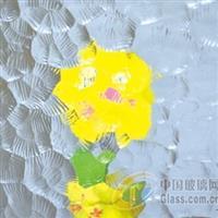 金晶超白銀波壓花玻璃