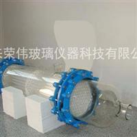 定制―高硼硅玻璃列管式热交换器