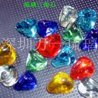 琉璃(玻璃)三角石/水晶石