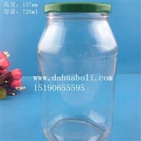 700ml黃桃罐頭玻璃瓶