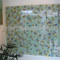 夹丝玻璃 艺术玻璃 背景玻璃