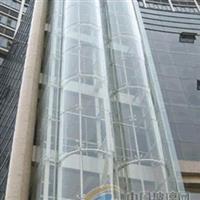 观光电梯玻璃罩钢结构电梯井道