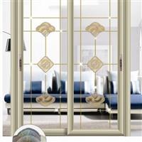 奢华典雅 艺术玻璃 玻璃隔断