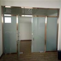 太原安装玻璃门隔断价格