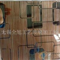 組合夾絲工藝玻璃