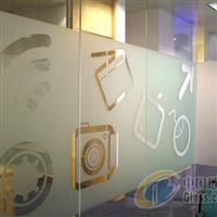 青岛3M玻璃贴膜建筑膜个性化LOGO雕刻