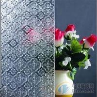 專業生產透明壓花玻璃-海棠