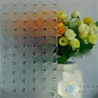 专业生产透明压花玻璃-千禧格