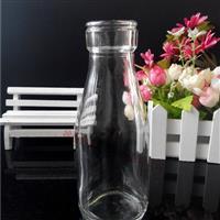 新款小口玻璃鲜奶瓶牛奶瓶