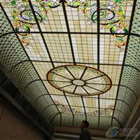厂家直供高端别墅彩色玻璃穹顶