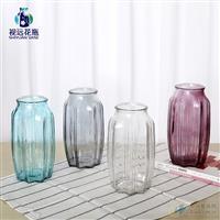 徐州玻璃瓶噴色創意花瓶
