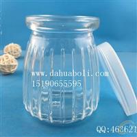 150ml竖条酸奶玻璃瓶