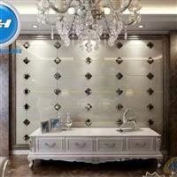 厂家提供定制拼镜 背景墙玻璃