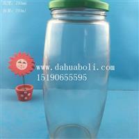广口罐头玻璃瓶