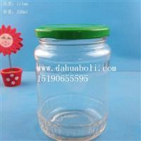 300ml广口罐头玻璃瓶