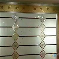 拼鏡背景墻酒店走廊玻璃裝飾