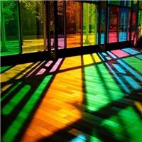 天津彩色玻璃加工制作成批出售