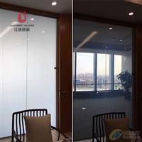 调光玻璃隔断 通电玻璃雾化玻璃