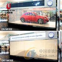 霧化玻璃調光玻璃隔斷 通電玻璃