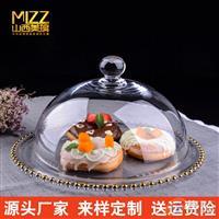 蛋糕盘透明玻璃欧式器皿