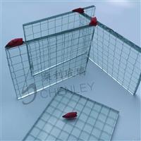 专用防盗夹铁丝玻璃 钢丝玻璃