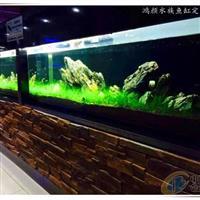 宜兴自然鱼缸定做酒店淡水鱼缸