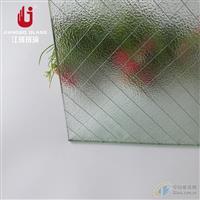 夹铁丝玻璃 夹钢丝玻璃防盗玻璃