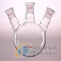 甘肃实验室玻璃器皿三口烧瓶供应