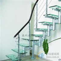 强化防滑玻璃空中玻璃栈道