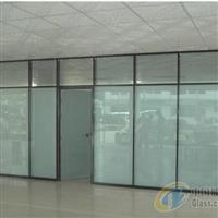 太原尖草坪定制玻璃门隔断和维修