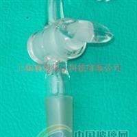 玻璃儀器玻璃抽氣接頭實驗玻璃