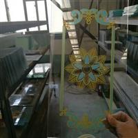 河北品牌门窗艺术玻璃门芯腰线
