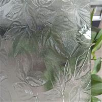 枫叶2号 扶桑 秋海棠压花玻璃工艺玻璃原片