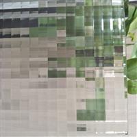雙方格 洛可可 水魅 壓花玻璃廠家供應