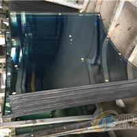 福特藍夾膠彎鋼中空玻璃/福特藍中空玻璃