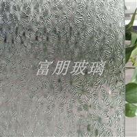 折花 海棠 玉葉 壓花玻璃廠家供應