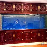 扬州鱼缸定做大型镶嵌式鱼缸