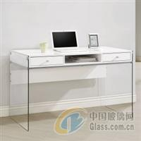 玻璃写字台桌面