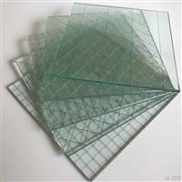 厂家直销 夹铁丝玻璃 门窗防盗防砸玻璃