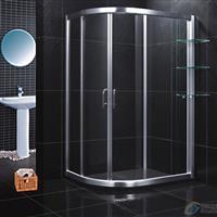 浴室廠家直銷鋁型材 淋浴房 配外置層架LR031