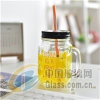 梅森瓶公雞杯沙冰奶茶果汁冷飲杯
