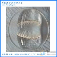 LED路灯玻璃透镜
