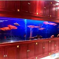 舟山鱼缸定做大型别墅酒店镶嵌式水族工程