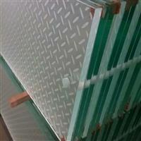 舞台空中防滑玻璃 防滑楼梯玻璃