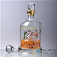 冬虫夏草玻璃酒瓶昆仑山玻璃酒瓶玻璃小山酒瓶