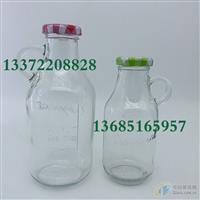 300ml果汁饮料瓶,38口玻璃瓶,高白料玻璃瓶