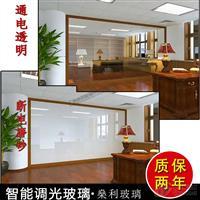广州燊利电致变色雾化玻璃  夹胶安全玻璃生产工厂
