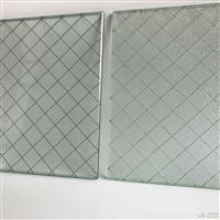 广州夹铁丝玻璃厂家 门窗防盗玻璃 铁丝网玻璃