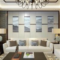 电视沙发硬包电视背景墙多少钱